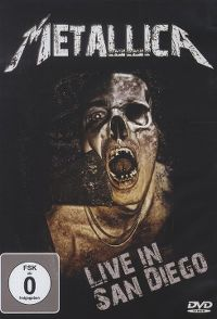 Cover Metallica - Live In San Diego [DVD]